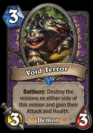 Void Terror Card