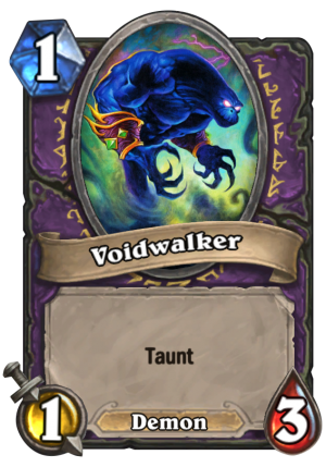 Voidwalker Card