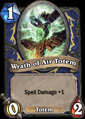 Wrath of Air Totem Card