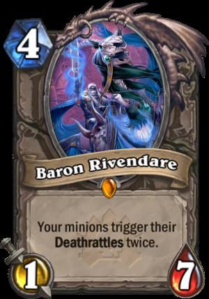 Baron Rivendare Card