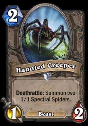 Haunted Creeper Card