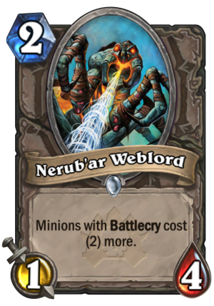 Nerub'ar Weblord Card