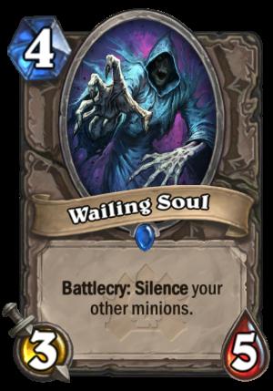 Wailing Soul Card