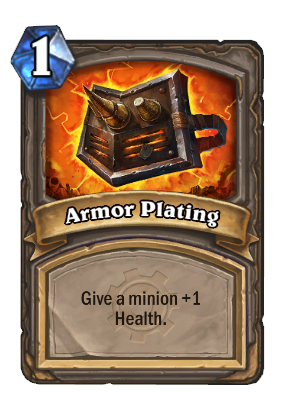 Armor Plating Card