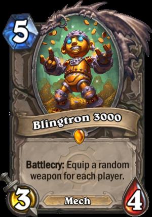 Blingtron 3000 Card