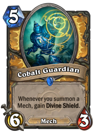 Cobalt Guardian Card
