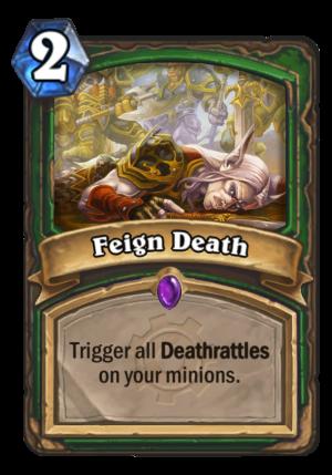 Feign Death Card