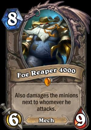 Foe Reaper 4000 Card