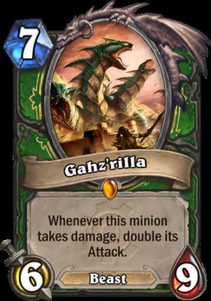 Gahz'rilla Card