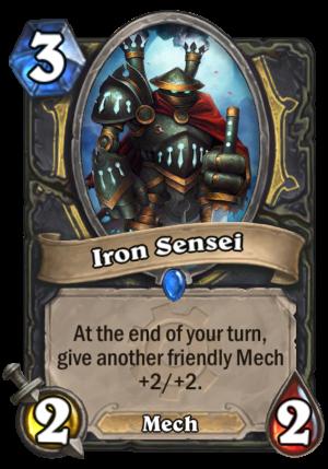 Iron Sensei Card