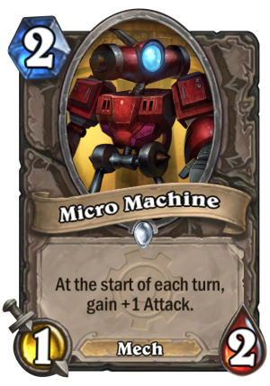 Micro Machine Card