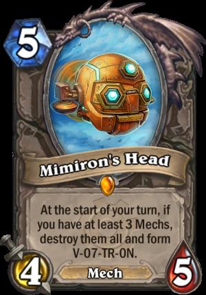 Mimiron's Head Card