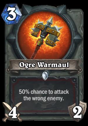 Ogre Warmaul Card