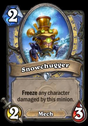 Snowchugger Card
