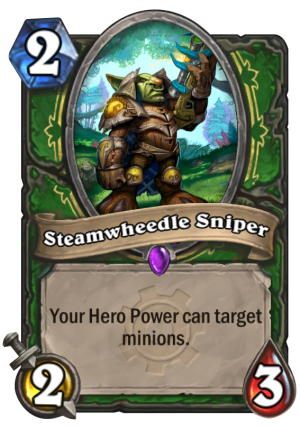 Steamwheedle Sniper Card