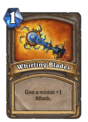 Whirling Blades Card