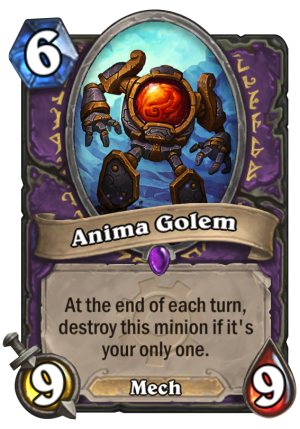 Anima Golem Card