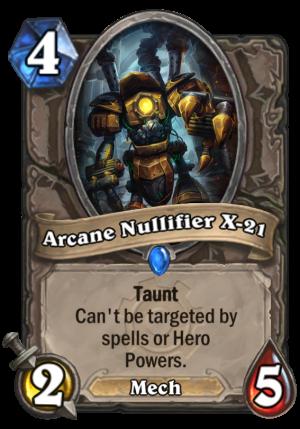 Arcane Nullifier X-21 Card