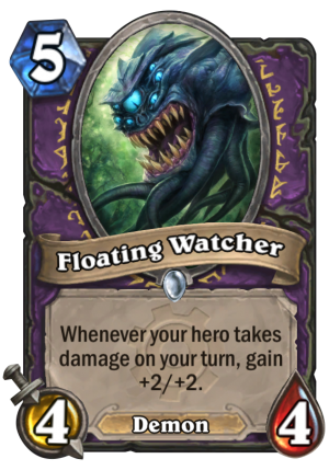 Floating Watcher Card