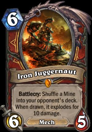 Iron Juggernaut Card