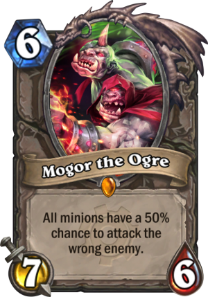 Mogor the Ogre Card