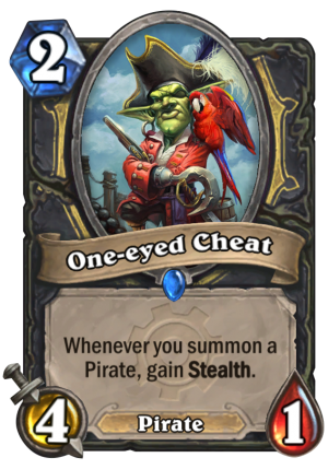 One-eyed Cheat Card