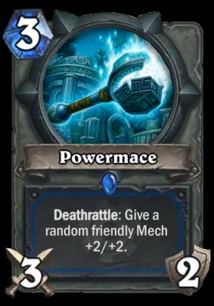 Powermace Card