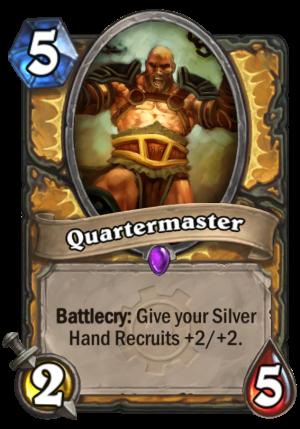 Quartermaster Card