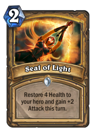 Seal of Light Card