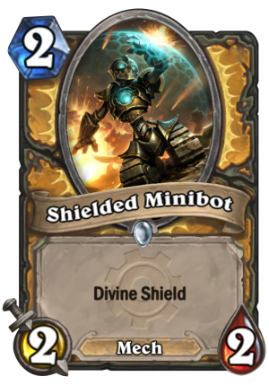 Shielded Minibot Card