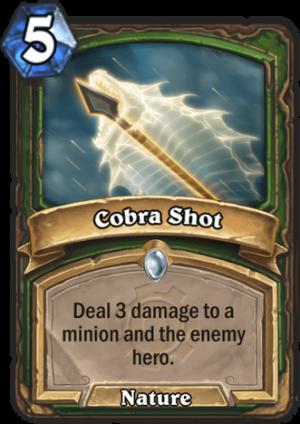 Cobra Shot Card