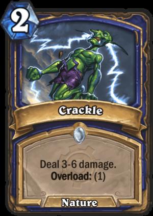 Crackle Card