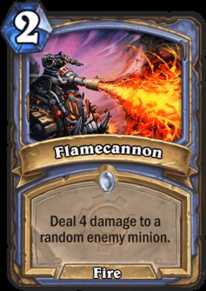 Flamecannon Card