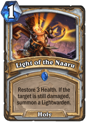 Light of the Naaru Card