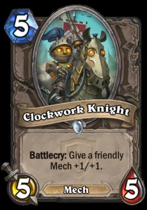 Clockwork Knight Card