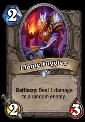 Flame Juggler Card