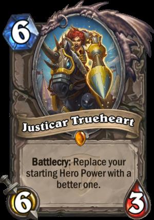Justicar Trueheart Card