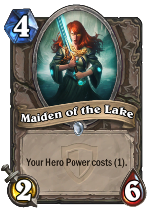 Maiden of the Lake Card