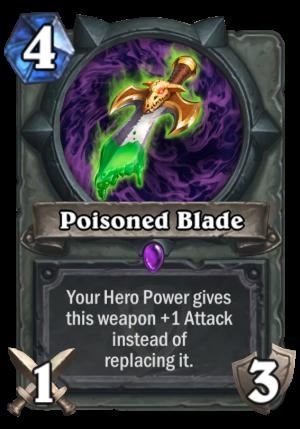 Poisoned Blade Card