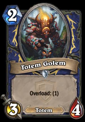 Totem Golem Card