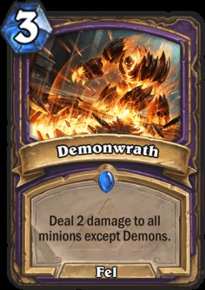 Demonwrath Card