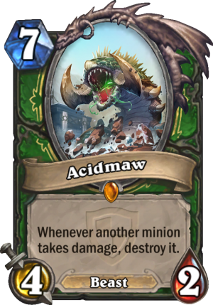 Acidmaw Card