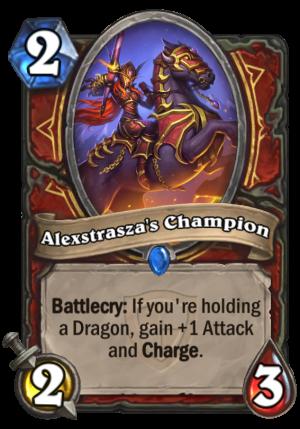 Alexstrasza's Champion Card