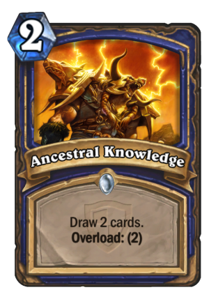 Ancestral Knowledge Card