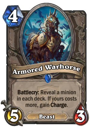 Armored Warhorse Card