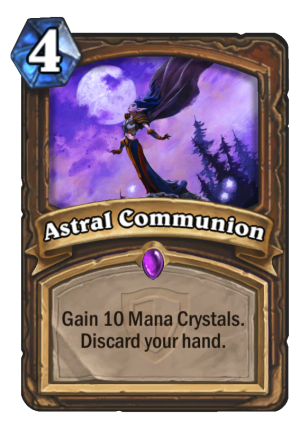 Astral Communion Card