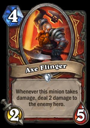 Axe Flinger Card