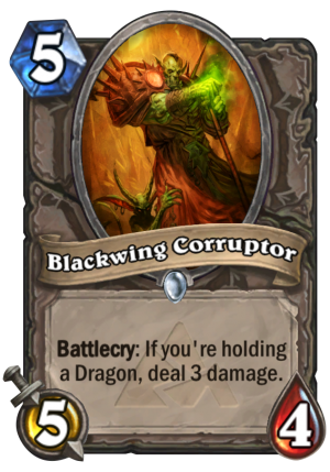 Blackwing Corruptor Card