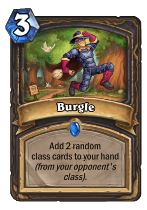 Burgle Card