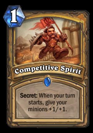 Competitive Spirit Card